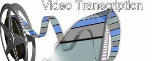 Transcription vidéo